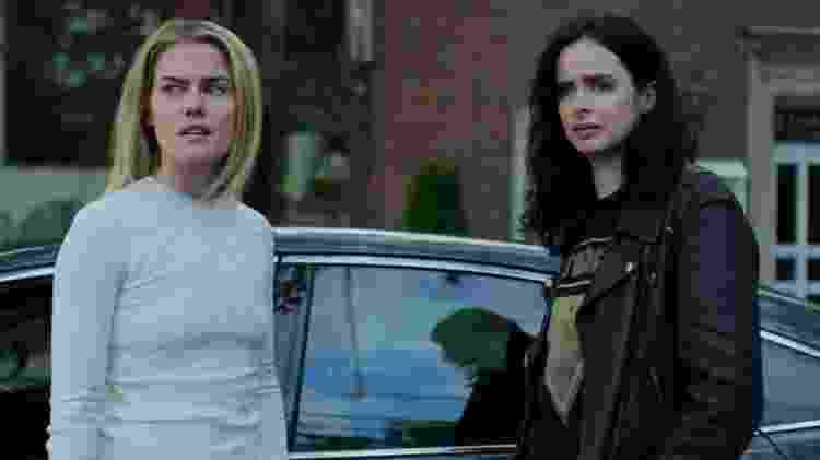 Trish (Rachael Taylor) e Jessica (Krysten Ritter) na terceira temporada de 'Jessica Jones' - Divulgação/Netflix - Divulgação/Netflix