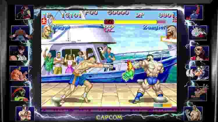 Street Fighter - Divulgação - Divulgação