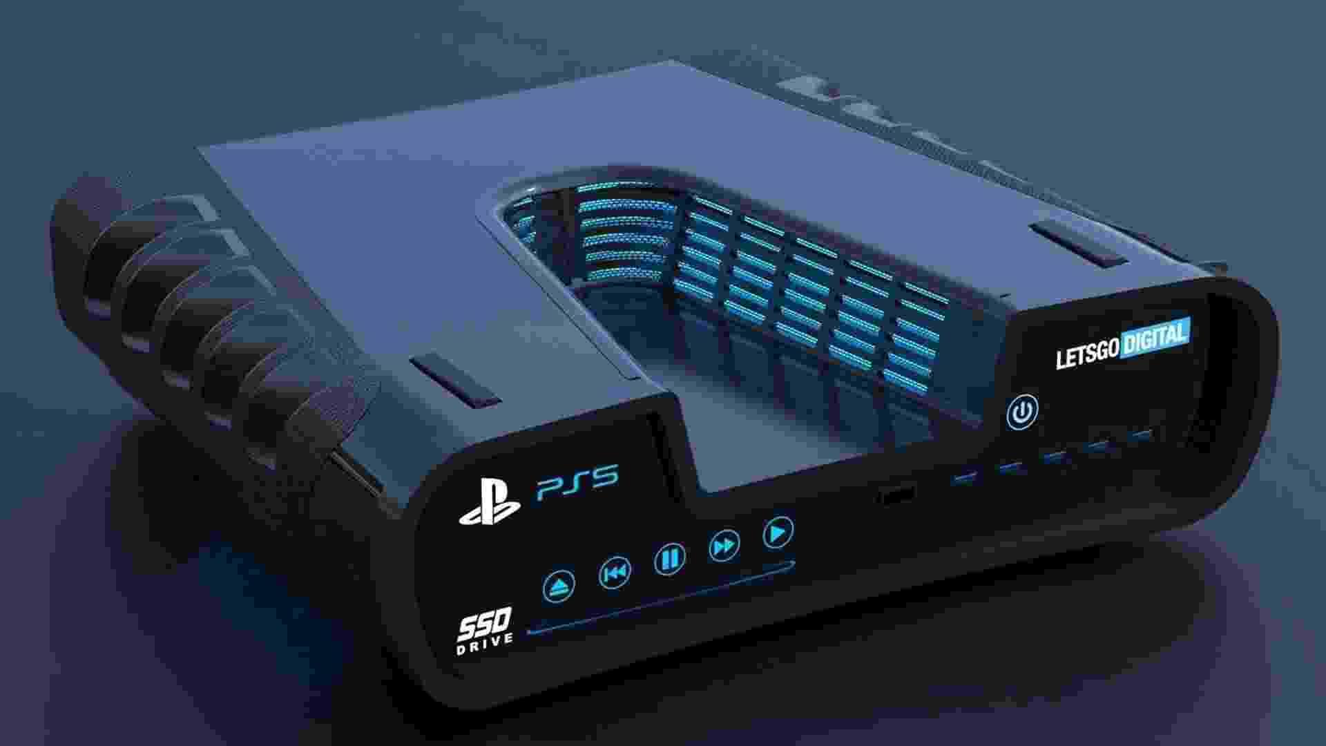 Devkit do PS5 recriado em 3D (Não-oficial) - LetsGoDigital/Reprodução