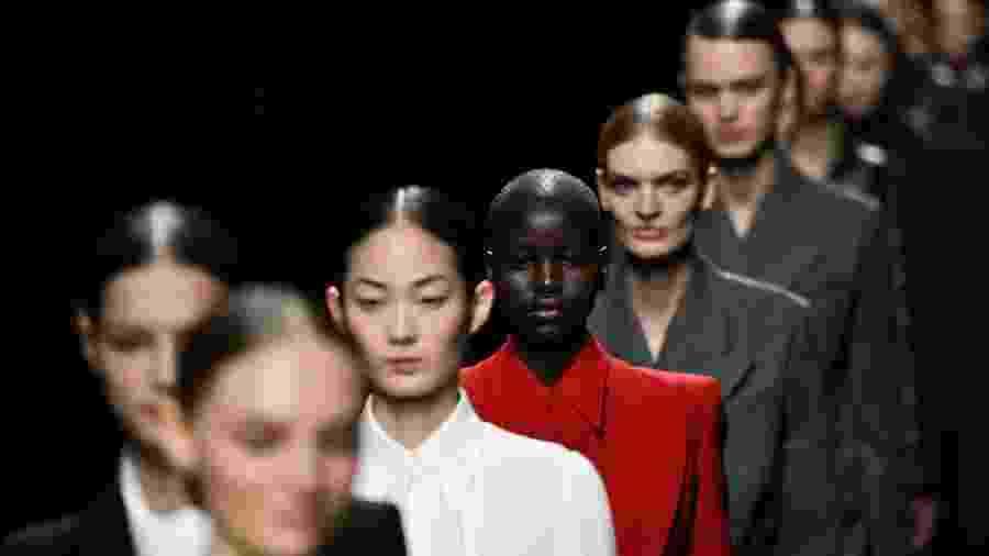 12.fev.2020 - Desfile da Michael Kors durante Semana de Moda de Nova York - Idris Solomon/Reuters