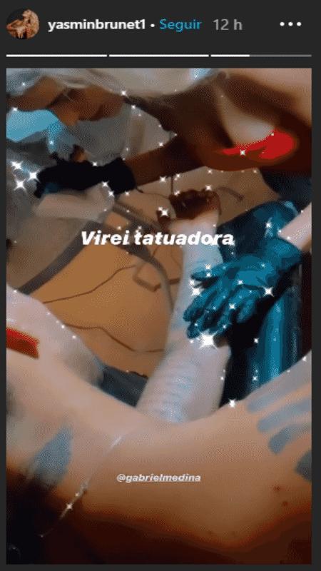 Yasmin Brunet e Gabriel Medina - Reprodução / Instagram - Reprodução / Instagram