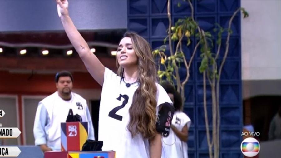 Rafa é a nova líder do BBB 20 - Reprodução/TV Globo