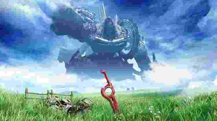 Xenoblade Chronicles - Divulgação/Nintendo - Divulgação/Nintendo