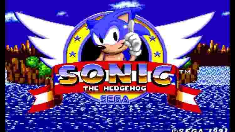 Sonic 1 - Divulgação/SEGA - Divulgação/SEGA