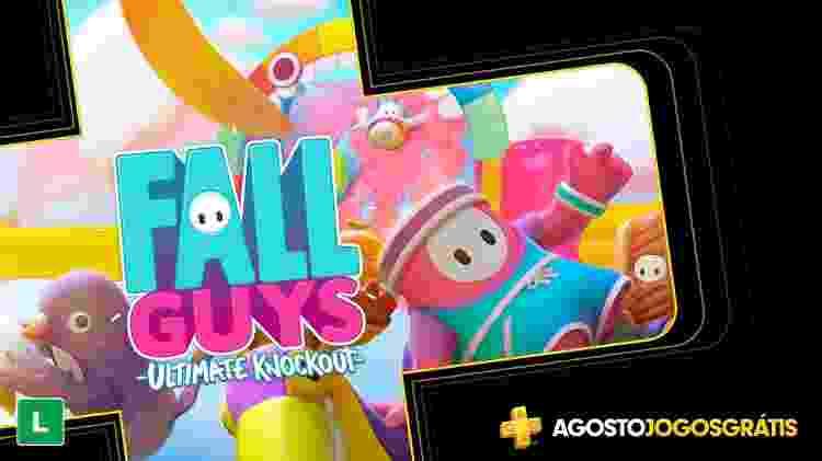 Fall Guys PS Plus - Divulgação/Sony - Divulgação/Sony