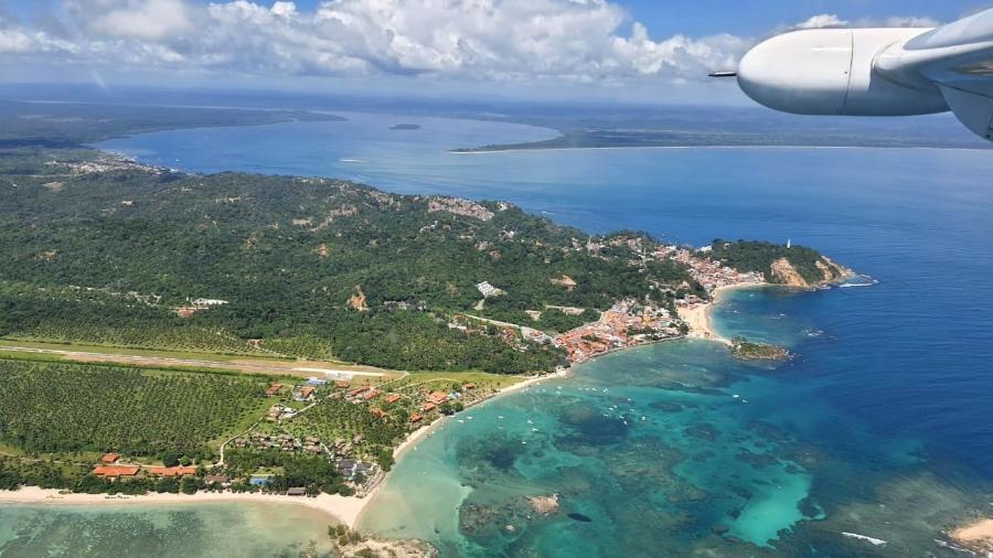 Novos voos ligam grandes centros a destinos turísticos, como o Morro de São Paulo, na Bahia - Divulgação/Abaeté Linhas Aéreas