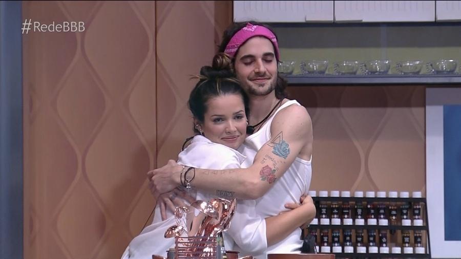 BBB: Fãs shippam Fiuk e Juliette - Reprodução/GloboPlay