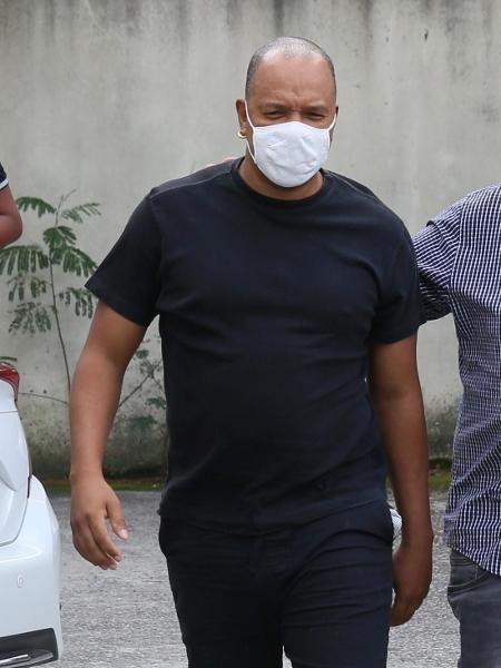 Anderson Leonardo presta depoimento na 33ª DP (Realengo) no Rio de Janeiro - Anderson Borde / AgNews