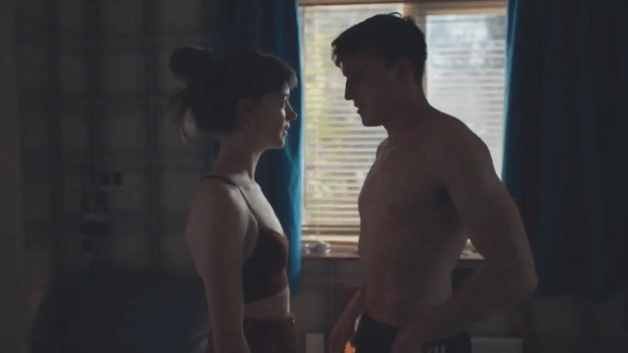 """Cena de """"Normal People"""" venceu o Sex on Screen Awards de 2021 - Reprodução/YouTube"""
