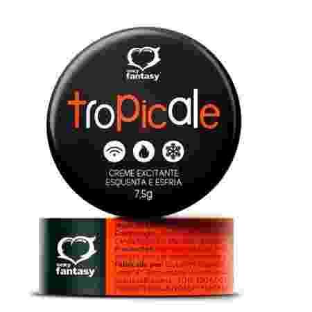 Sexy Fantasy Tropicale - creme excitante com efeito esquenta e esfria - 7,5g (Preço sugerido R$ 14,90) - Divulgação - Divulgação