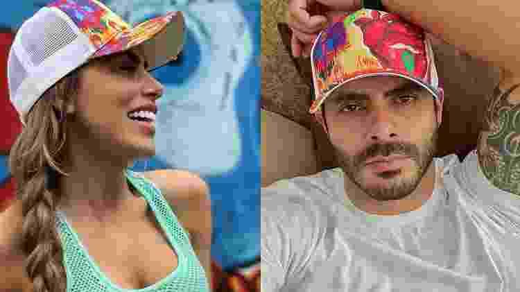Rodolffo e ex-bailarina do Faustão trocam elogios - Reprodução/Instagram - Reprodução/Instagram