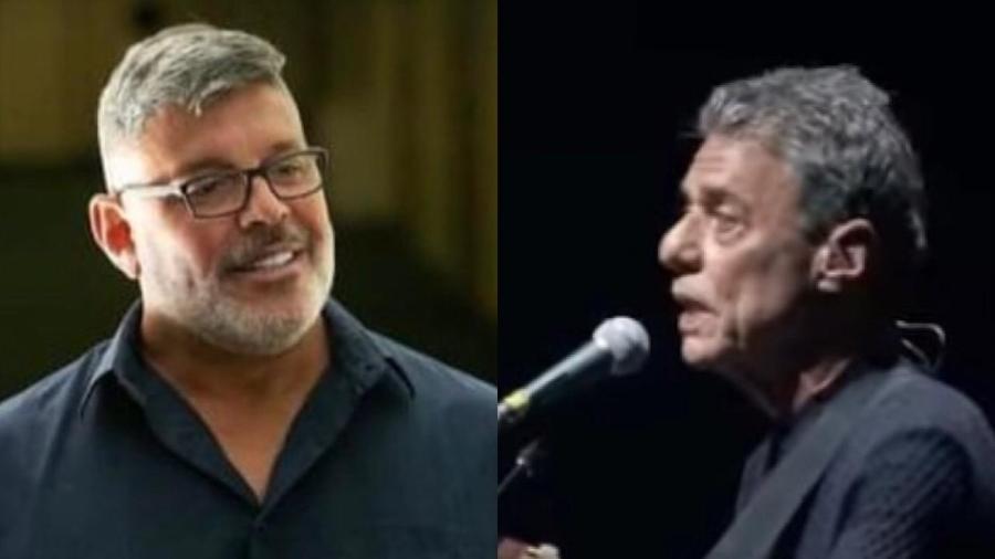 Alexandre Frota e Chico Buarque - Reprodução / Instagram