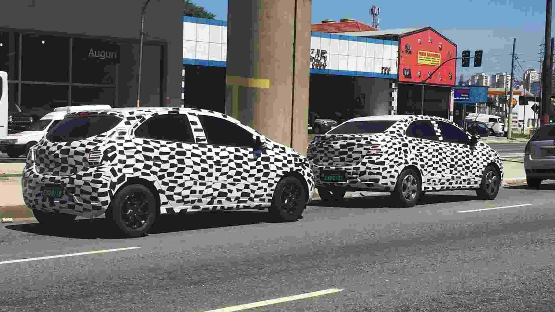 Flagra de Chevrolet Onix e Prisma reestilizados - Elaine Lumi/UOL