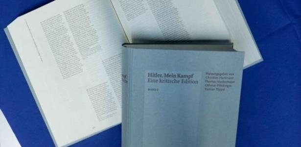 """Mesmo chamada de """"tediosa"""", nova edição de """"Mein Kampf"""" (Minha Luta) está na lista dos mais vendidos da Alemanha há meses - Getty Images"""