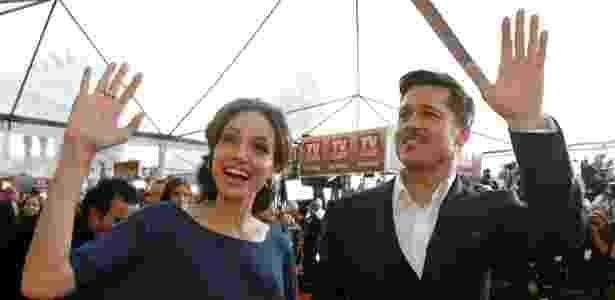 Um divórcio como o de Brad Pitt e Angelina Jolie parece blockbuster  - Mario Anzuoni/Reuters