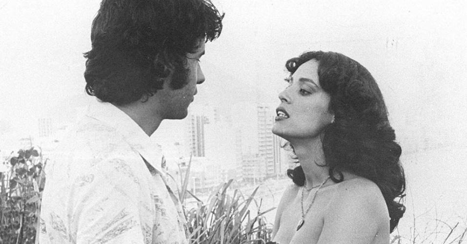 """Cena de """"A Dama do Lotação"""" (1978), com Sônia Braga, que detém a quarta maior bilheteria do país"""