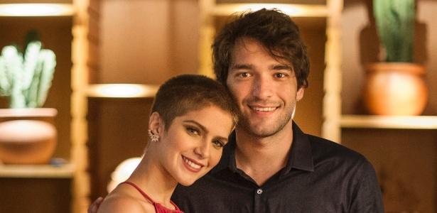 """Letícia (Isabella Santoni) e Tiago (Humberto Carrão), em """"A Lei do Amor"""" - Mauricio Fidalgo/TV Globo"""