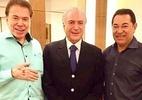 Temer: 'Foi oportunidade única explicar Previdência no programa do Silvio Santos' (Foto: Reprodução/Instagram/robsonjassa)