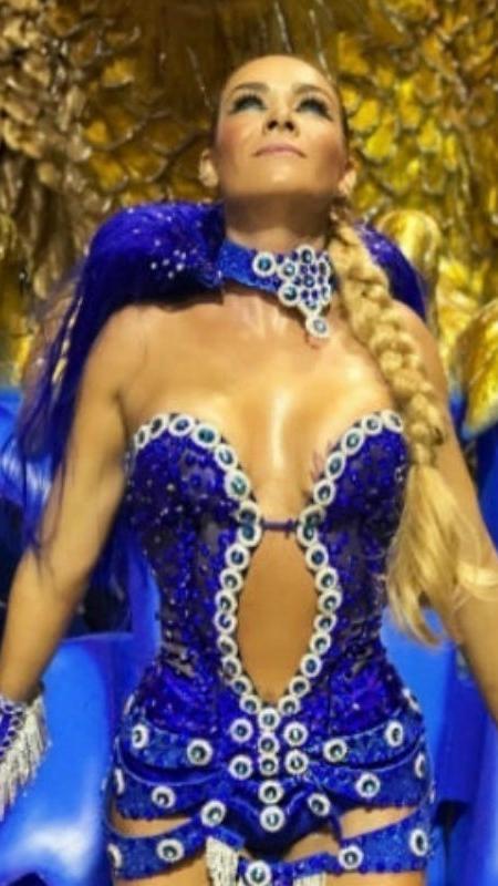 Luize Altenhofen é musa da Águia de Ouro no Carnaval de 2017 - Reprodução/Instagram/luizealtenhofen