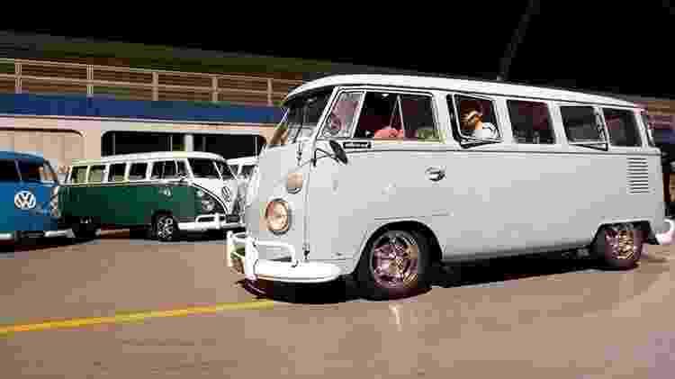 Encontro de Volkswagen Kombi no Anhembi, em São Paulo - Reprodução - Reprodução