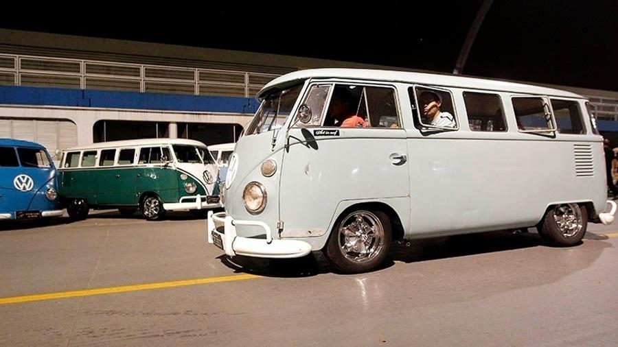 Encontro de Volkswagen Kombi no Anhembi, em São Paulo