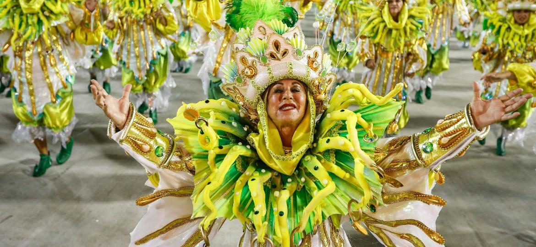 Mocidade Independente de Padre Miguel: campeã do Carnaval do Rio ao lado da Portela - Marco Antônio Teixeira/UOL