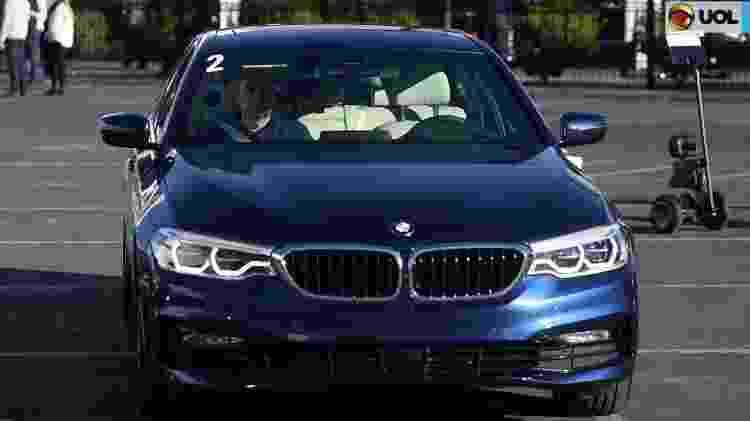 Nova geração do BMW Série 5 foi apresentada no Salão de Detroit e na CES 2017 - Reprodução