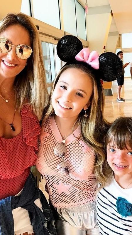 Larissa Manoela encontra com Ticiane Pinheiro e Rafinha Justus em Orlando - Reprodução/Instagram