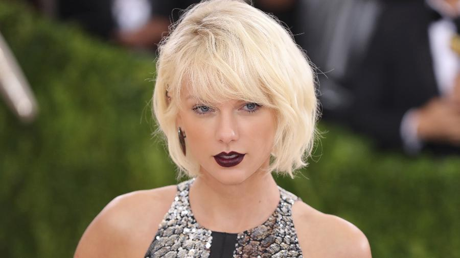 A cantora americana Taylor Swift - Getty Images