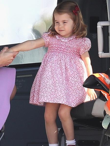 Princesa Charlotte é o novo ícone fashion da família real britânica - Getty Images