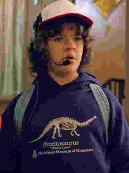 Dustin (Gaten Matarazzo), de Stranger Things - Reprodução/Netflix