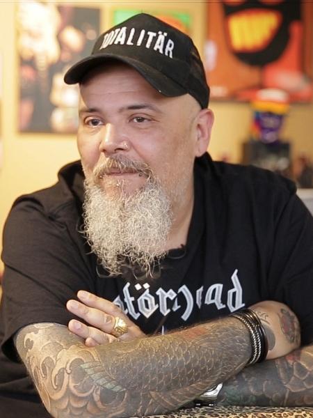 João Gordo completou 57 anos e organizou ação solidária na zona leste de SP - Vinicius Souza/UOL