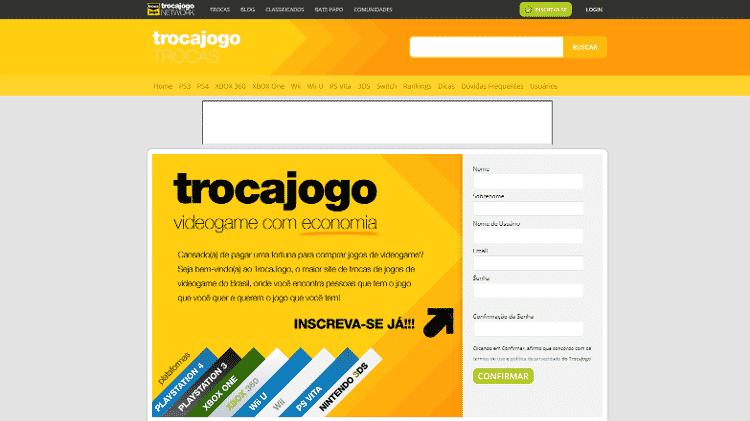 Trocajogo - Reprodução - Reprodução