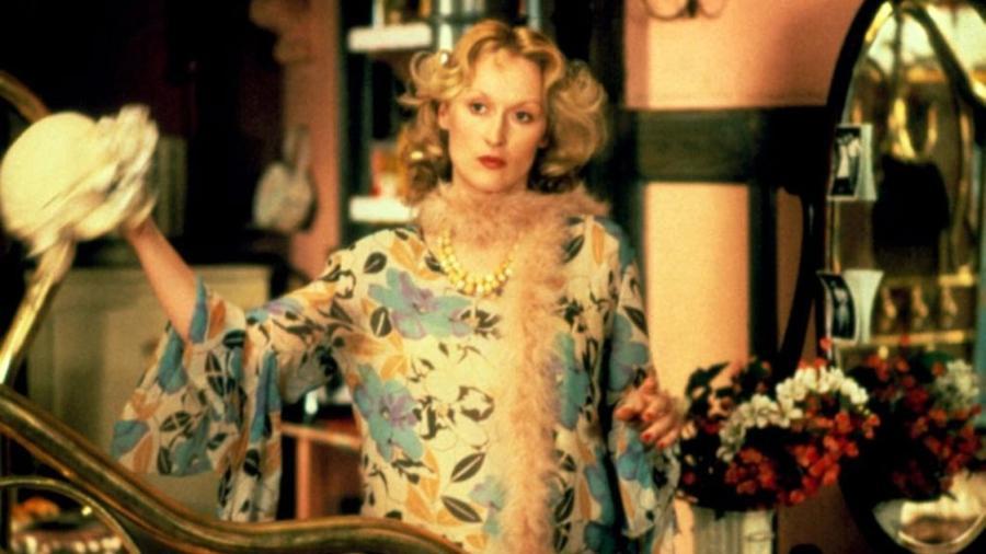 """Meryl Streep em """"A Escolha de Sofia"""" (1982); filme com o qual ela ganhou o Oscar e o Globo de Ouro de Melhor Atriz - Divulgação"""