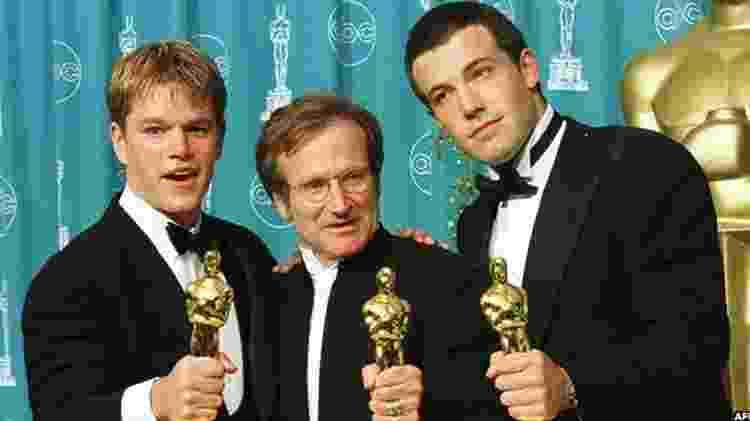 Robin Williams ganhou um Oscar por seu papel em 'Gênio Indomável'  - AFP - AFP