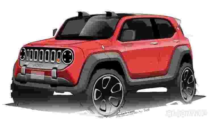Jeep Mini SUV - Divulgação - Divulgação
