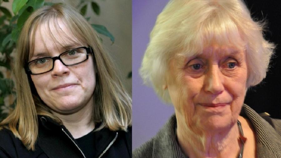 Lotta Lotass e Kerstin Ekman, que deixaram Academia do Nobel - Getty Images/Reprodução