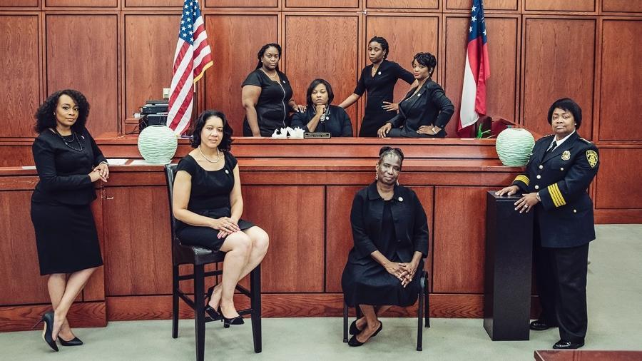 Justiça criminal do Condado de Fulton - Reginald Duncan/The Atlanta Voice