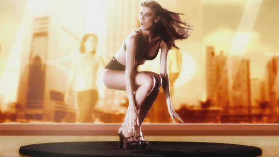 """Michelle Alves estrelou abertura da novela """"Belíssima"""" em 2005 - Reprodução/TV Globo"""