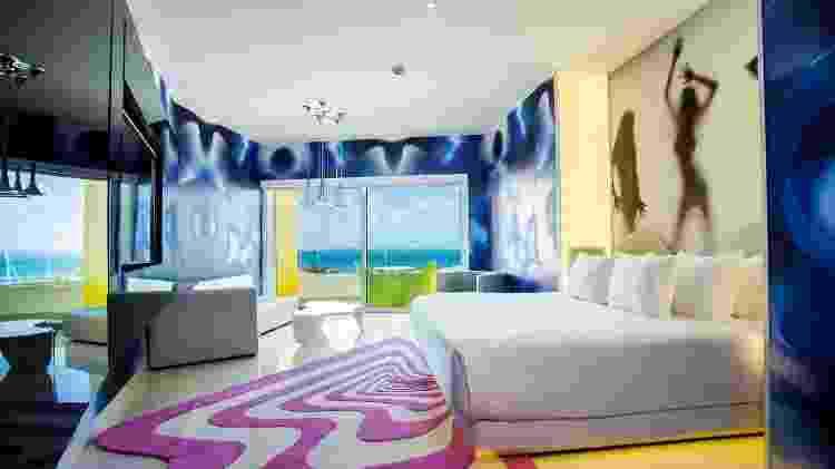 Alguns dos quartos do resort mexicano têm decoração sensual - Divulgação/Temptation Cancún Resort - Divulgação/Temptation Cancún Resort
