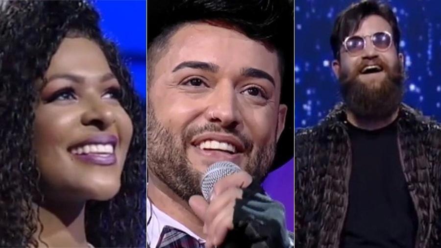 """Jamily, Ga briel Camilo e Vinny estão na final do """"Canta Comigo"""" - Reprodução/TV Record"""