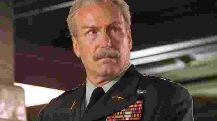 """William Hurt em cena de """"Capitão América: Guerra Civil"""" - Reprodução - Reprodução"""