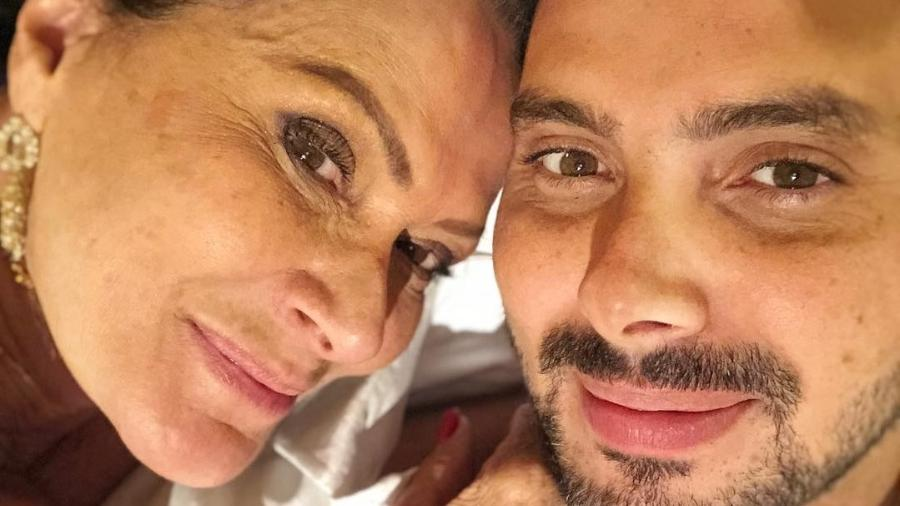 A ex-bbb Ieda e o namorado Marcelo Gomes estão juntos há três meses - Reprodução/Instagram/@m.h.g.r2