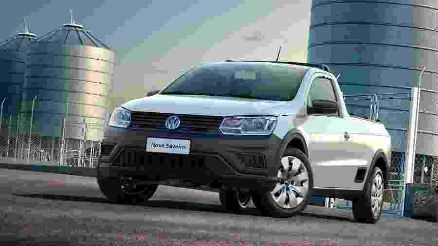 Na versão Robust, com cabine simples, VW Saveiro é a picape mais acessível do mercado: R$ 53.150 - Divulgação