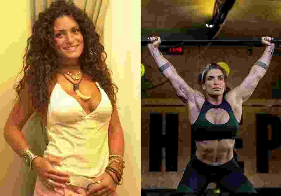 """Tatiana Giordano ficou com o corpo mais musculoso se comparado com a época em que participou do """"BBB4"""" - Reprodução/Instagram"""