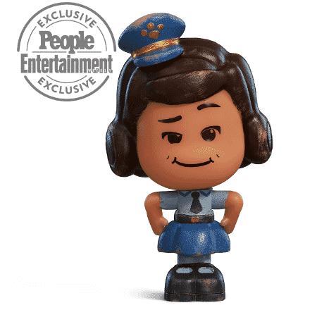 """Giggle McDimples, nova personagem de """"Toy Story 4"""" - Reprodução/EW"""