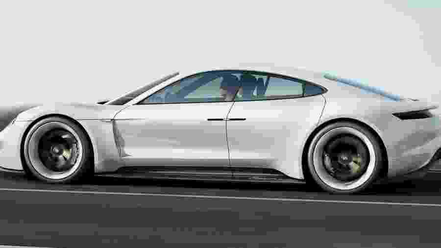 Porsche Taycan - Divulgação