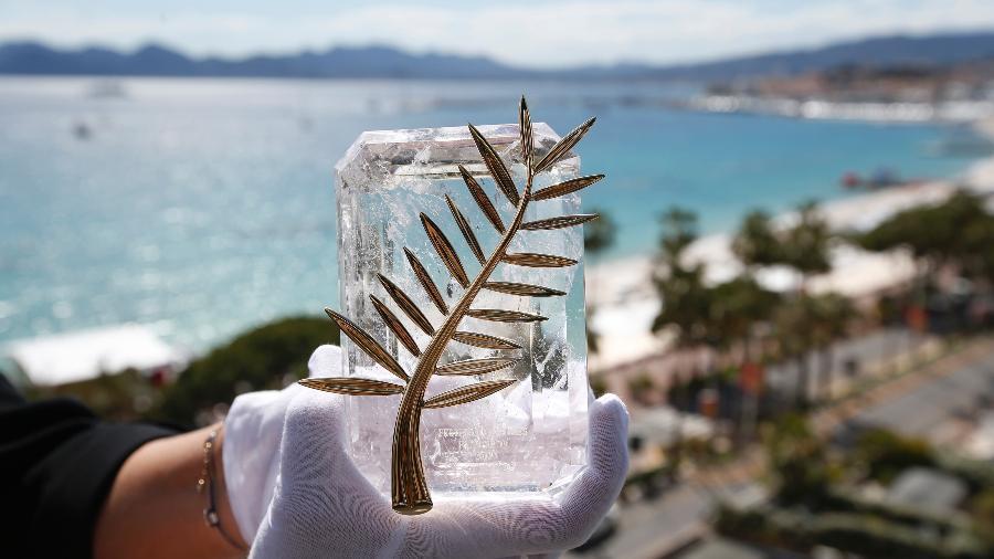 A Palma de Ouro de Cannes, prêmio de maior prestígio do festival francês - Regis Duvignau/Reuters