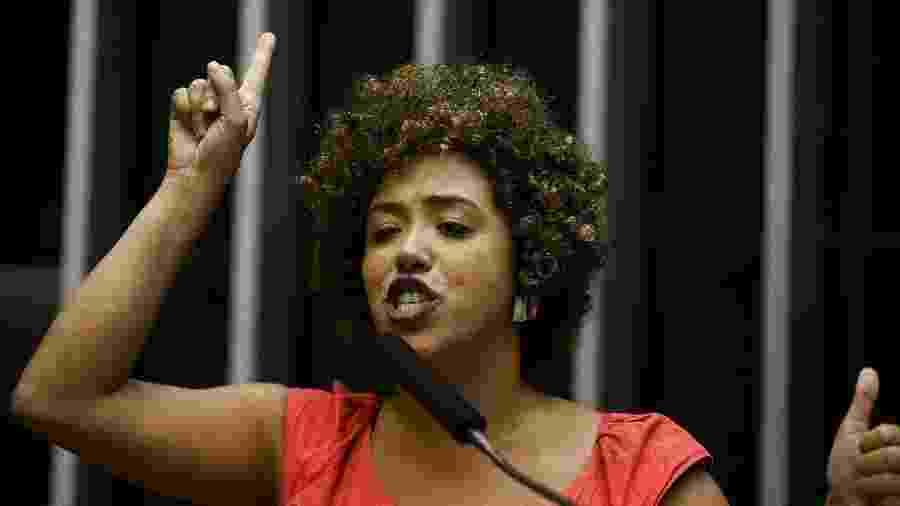 A deputada federal Talíria Petrone (PSOL-RJ) é uma das seis mulheres negras que integram o grupo - Pedro Ladeira/Folhapress