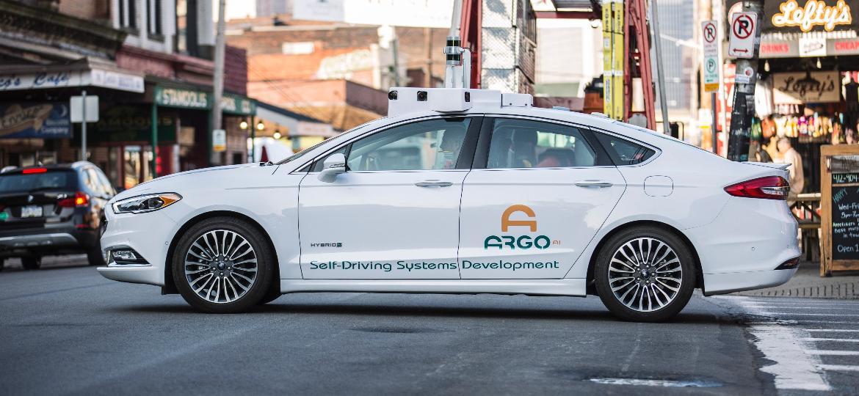 Ford já testa protótipos autônomos do Fusion nos EUA por meio da startup Argo AI - Divulgação